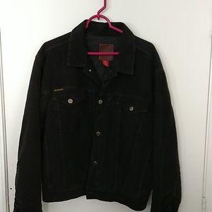 Mole skin denim style jacket